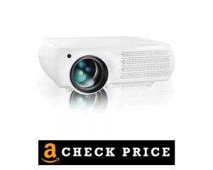 Gzunelic 7500 Lumens Native LED Video Projector