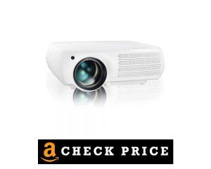 Gzunelic 8000 Lumens Native 1080 P Led Projector