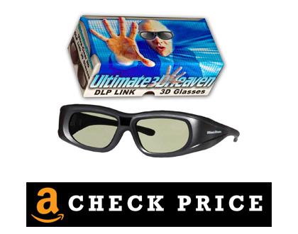 Ultra-Clear HD 144 Hertz 3D Glasses DLP Active
