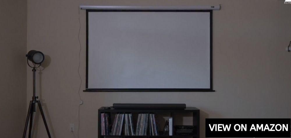 "Elite Screens 84"" Spectrum Series"