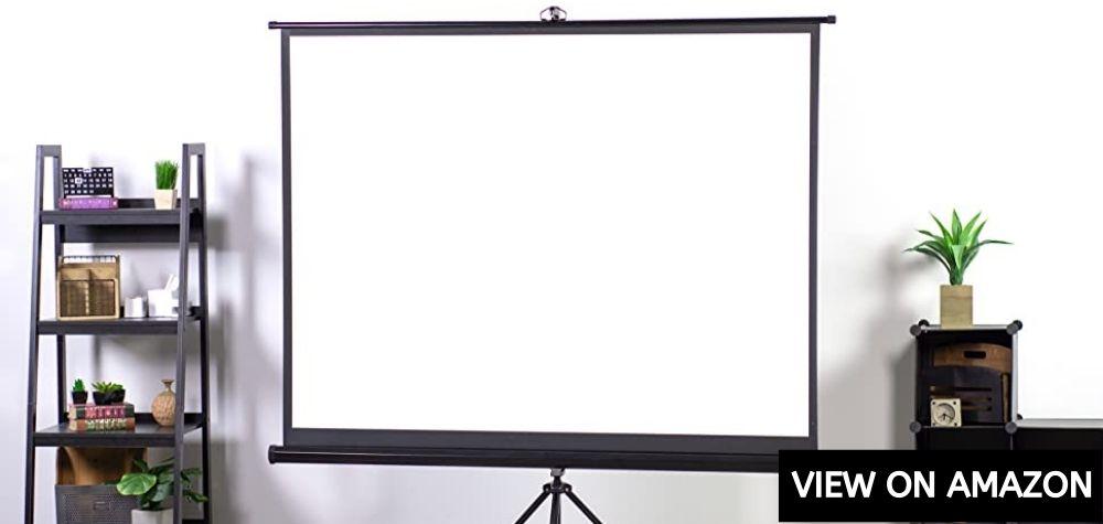 Vivo 84 Inch Portable Indoor And Outdoor Screen Projector